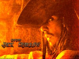 Captain Jack Sparrow -wall- by Iced-Clef