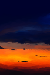 do you love the colour of the sky by themockingmirror