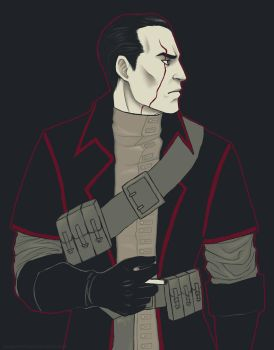 Palette+character meme: Daud by lady-voldything