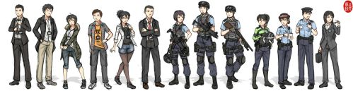 HKPF character lineup by NDTwoFives