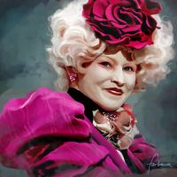 Effie Trinket by dewmanna