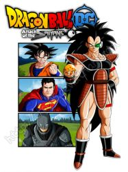 Attack of the Saiyans by orco05