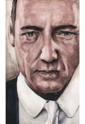 Kevin Spacey by Menco