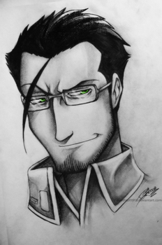 Maes Hughes by undead-medic