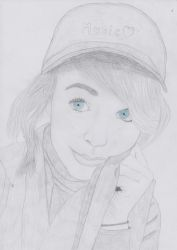 Lindsey Stirling portrait by portraitpencil