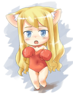 Random Chibi 7 colored by CatPlus