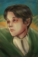 Levi - Strong heart by Dame-Cruz