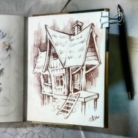 Instaart - little house by Candra
