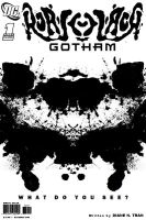 Rorschach in Gotham: Cover Art by tranimation-art