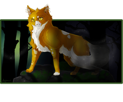 Welcome To The Dark Forest - Mapleshade by KaJuMii