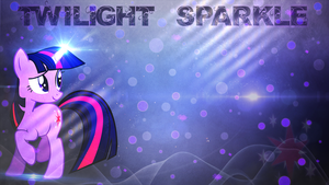 Twilight Sparkle Wallpaper by FroyoShark