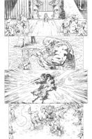 Secret origins 02 Starfire page 06 by PauloSiqueira