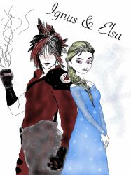Ignus and Elsa by bell7295