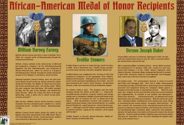 Commission - Black Medal of Honor Recipients by MauserGirl