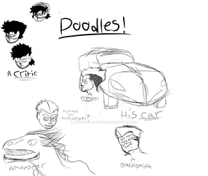 Main Character doodles by DatAnarcho-DemonBoi