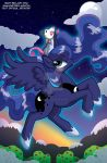 MLP Luna and Tiberius Commission by MaryBellamy
