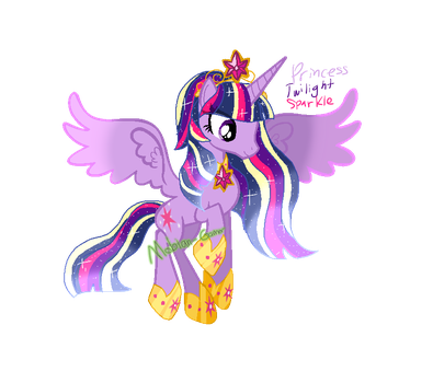 Princess Twilight Sparkle (Magicverse) by Mobian-Gamer