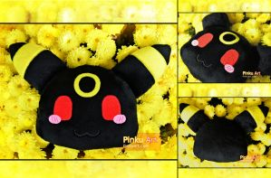 Chibi Umbreon pillow by PinkuArt