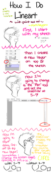 How I Do Smooth Lineart in Paint Tool SAI by ForkNayon