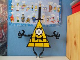 LEGO  Bill Cipher by ProfMadness