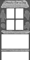 Ghosts for a Day: Blank Meme by haxor478