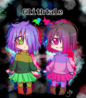 Betty and Amber - [ Glitchtale ] by Isia7