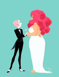 Rose and Pearl by TetraOrb