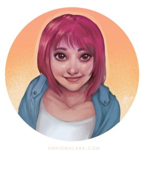 Author Portrait Commission by merely-A