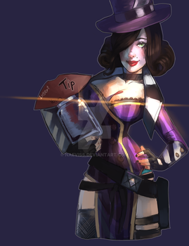 Moxxi - Patreon Reward by Naeviss