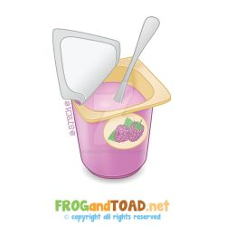Yaourt - Yoghurt FROGandTOAD by FROG-and-TOAD