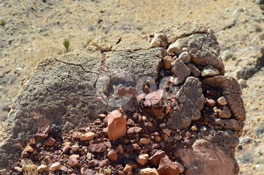 Crumbled and Cracked Rocks by ecogmedia