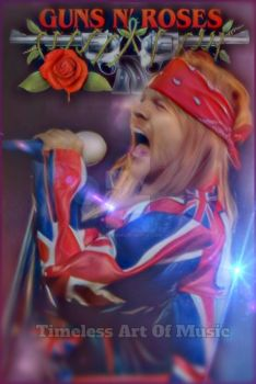 Axel Rose  by teresanunes