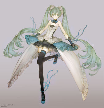 Seventh Dragon Miku by Memipong