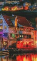 Colorful 2 house dream by amy-WednesdaysChild