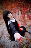 Hell Girl -  DOWN butterfly by Sakina666