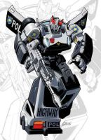 IDW G1 Card - Prowl by GuidoGuidi