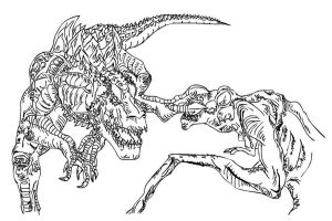 Image Result For Cloverfieldmonster Coloring Page