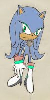 Psi the Hedgehog by SailorQuaoar
