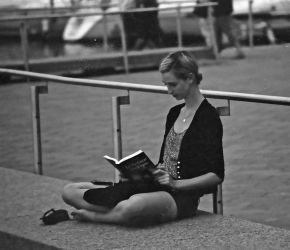 Sitting And Reading by Neville6000
