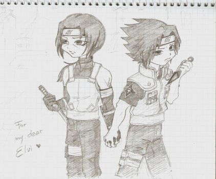 a cop and a FSB employee by Sumeragi-no-Chloe