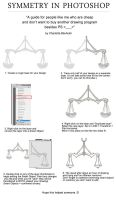 Symmetry / Mirroring in Photoshop Tutorial! by CharlottaBavholm