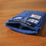 felt tardis case by yiea