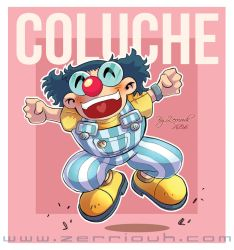Coluche Fan Art by ZerriouhManga