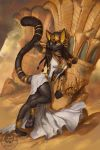 Guardian of the Lower Nile by The-SixthLeafClover