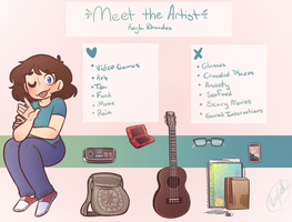 Meet the Artist by KiraNohara