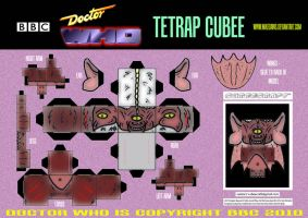 Doctor Who - Tetrap Cubee by mikedaws