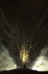 Tyrion and Rhaegal ( GAME OF THRONES) by AnatoFinnstark
