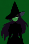 Elphaba by mintycanoodles