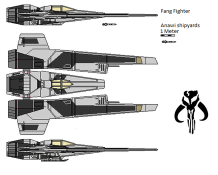 exported Fang fighter type 6 by AnowiShipyards
