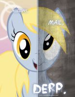 MLP - Two Sides of Derpy? by TehJadeh